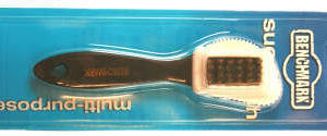 Benchmark Multi Purpose Suede Brush photo