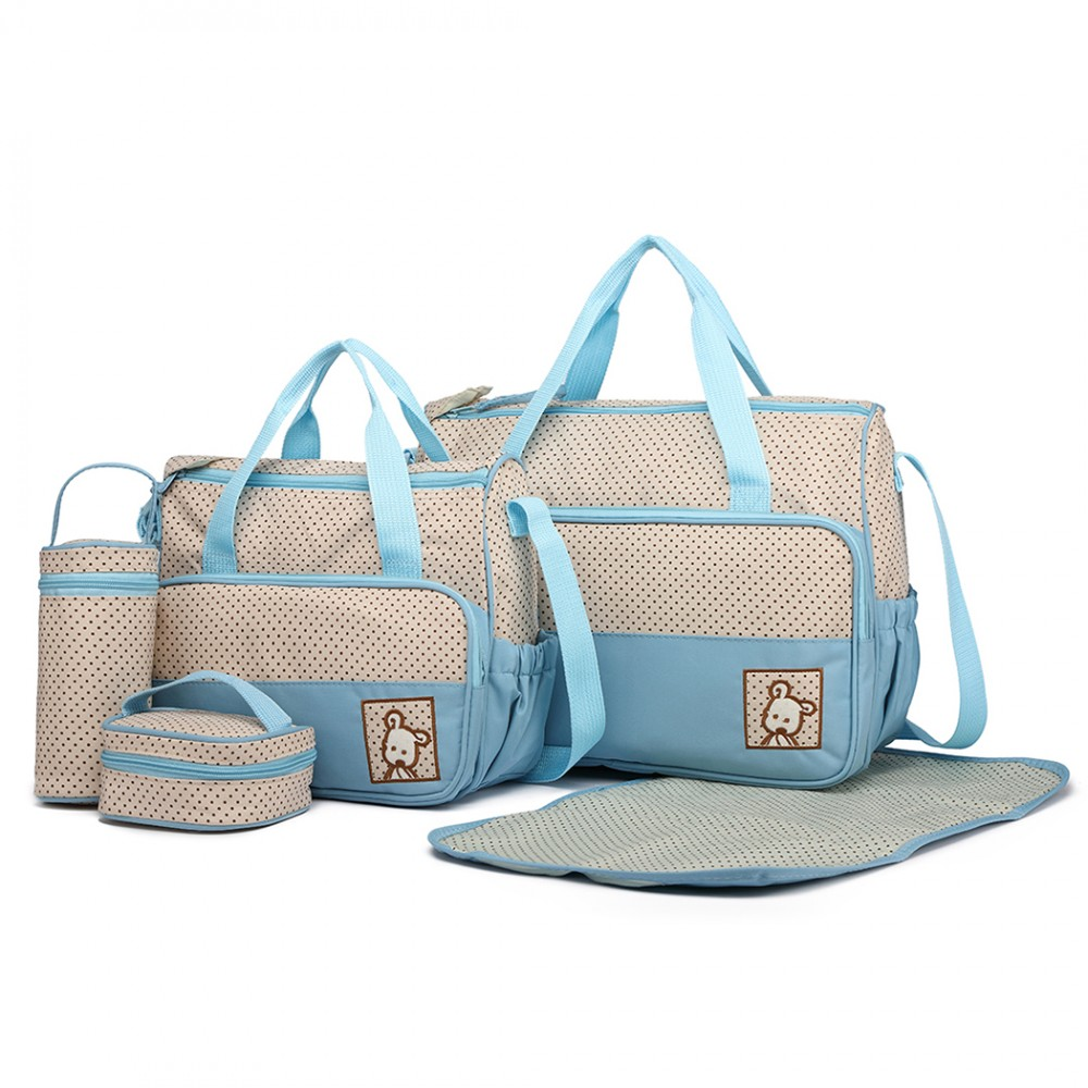 507429ba6cf4d Miss LULU Polyester 5PCS Maternity Baby Changing Bag 5 Colours - The ...