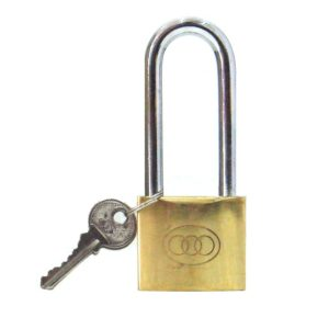 tri circle padlocks long shackle photo